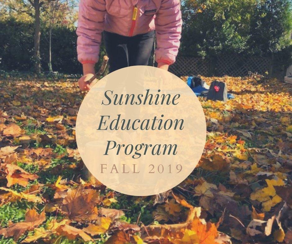 Fall Sunshine Program