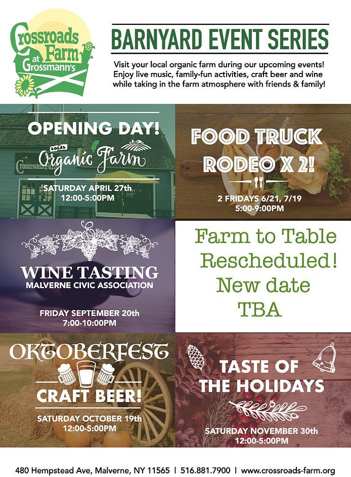 Barnyard Series Updated Event Flyer
